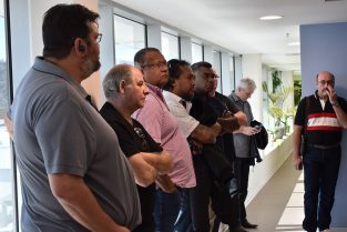 L'USOENC visite les nouveaux locaux de la Direction du Travail et de l'Emploi (DTE NC)