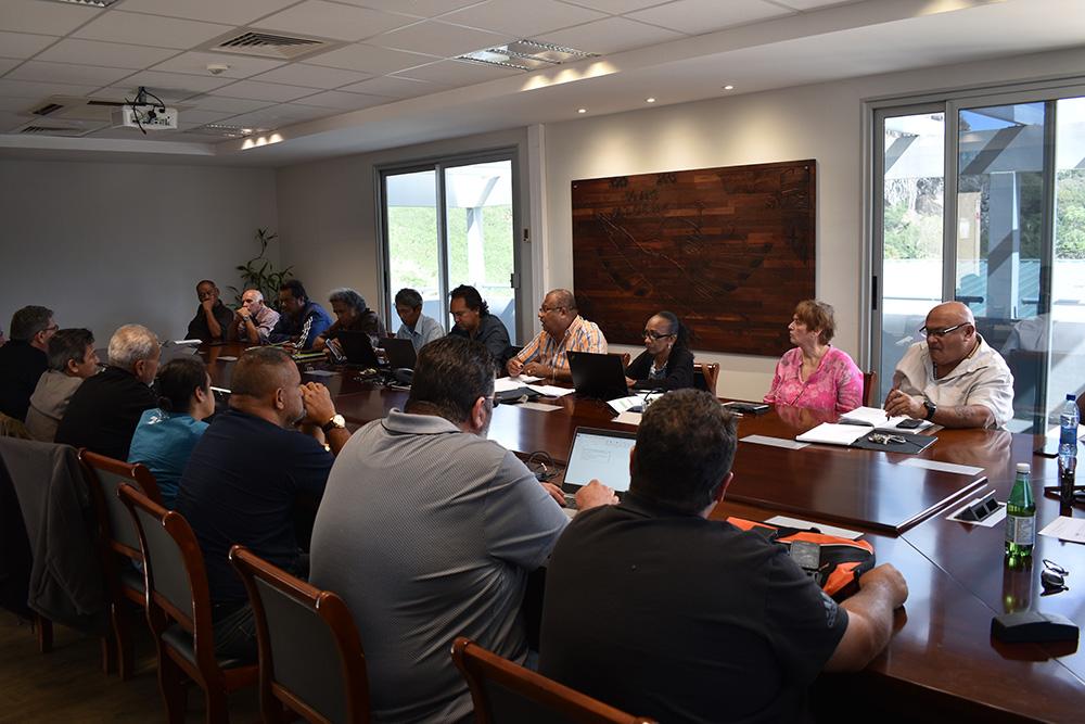 L'USOENC en réunion de bureau extraordinaire