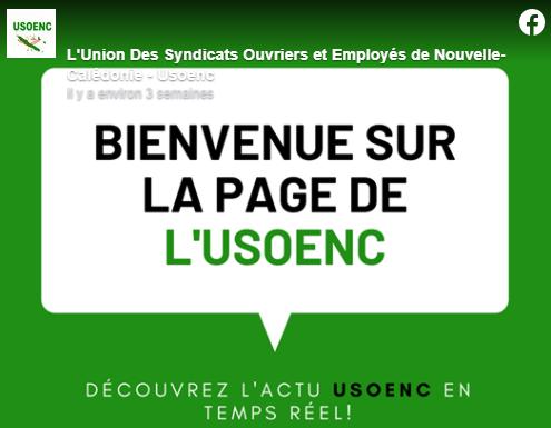L'USOENC a ouvert sa page Facebook !