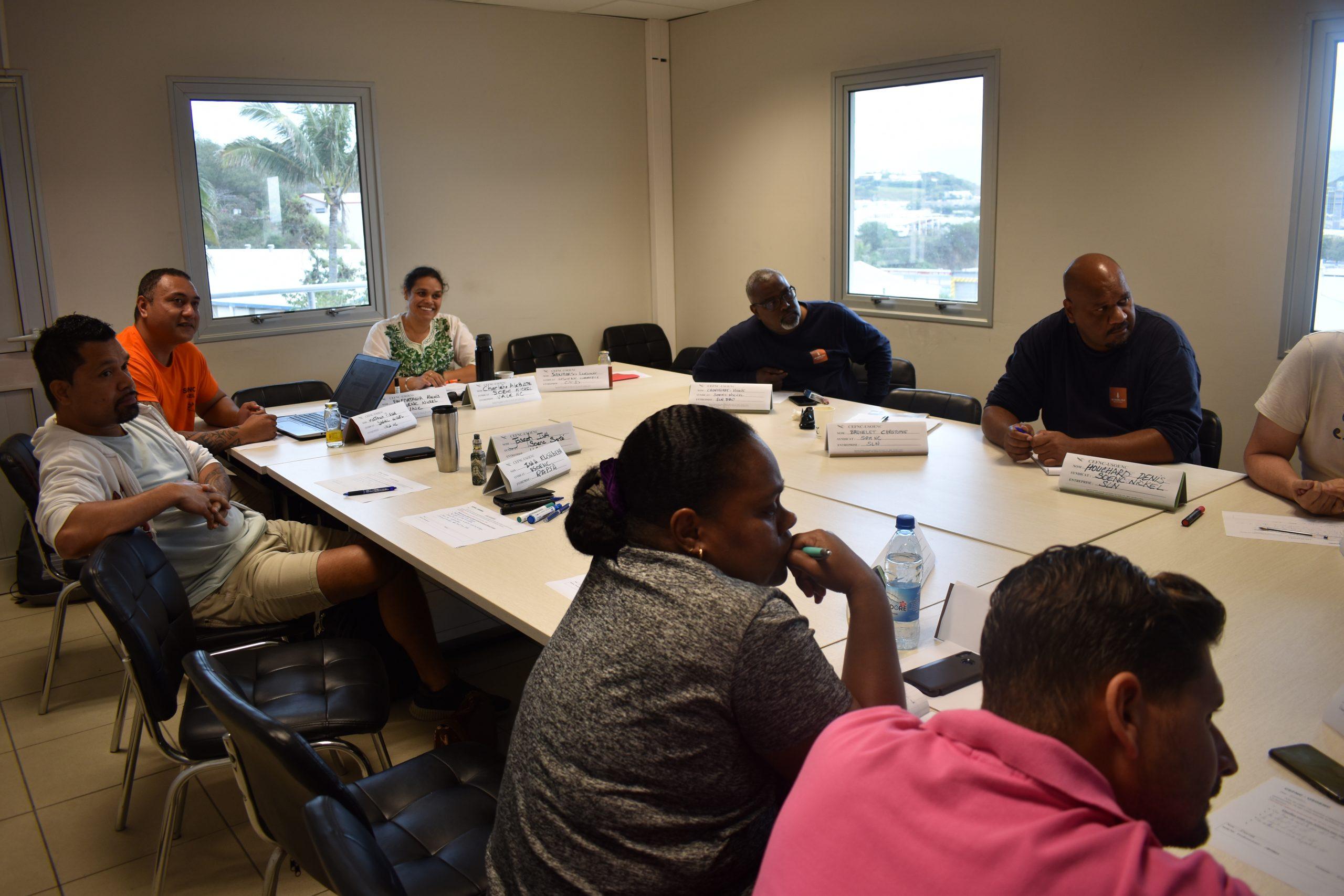 Une formation Délégué Syndical à l'USOENC avec le CEFNC.