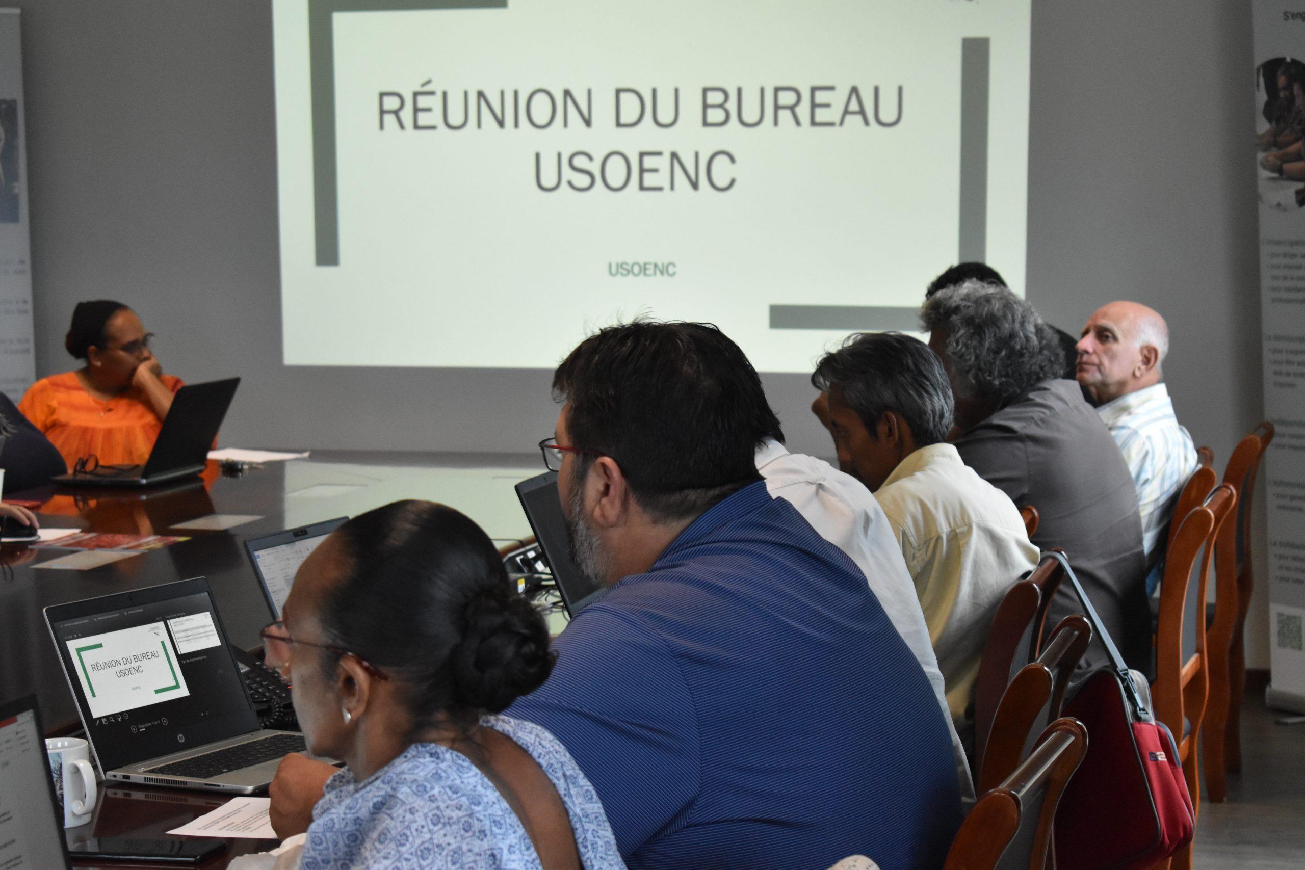 L'USOENC a tenu sa dernière réunion de bureau le vendredi 18 décembre 2020