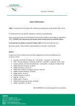 Fermeture de l'USOENC : prolongement du confinement jusqu'au lundi 04 octobre
