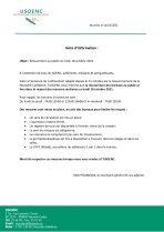 Réouverture des bureaux USOENC : les mesures prises par le syndicat pour limiter les risques de propagation du Covid-19